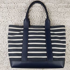 Michael Kors Bags - Michael Kors Fulton Striped Canvas Medium Tote